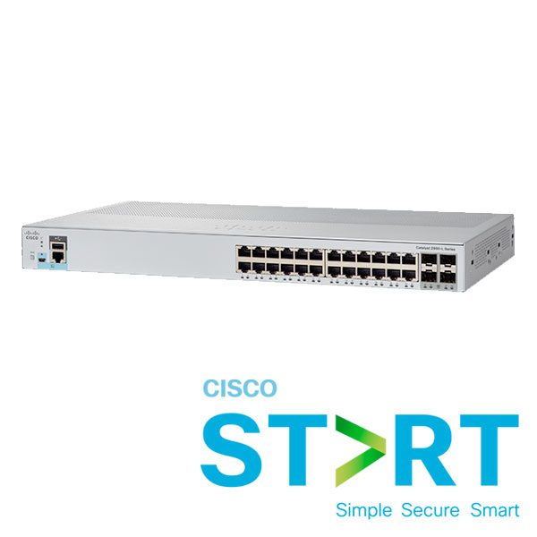 cisco catalyst 2960l-24ts-ap glam left