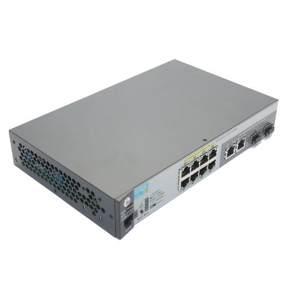 hpe 2530-8g-poe+ switch J9774A top right
