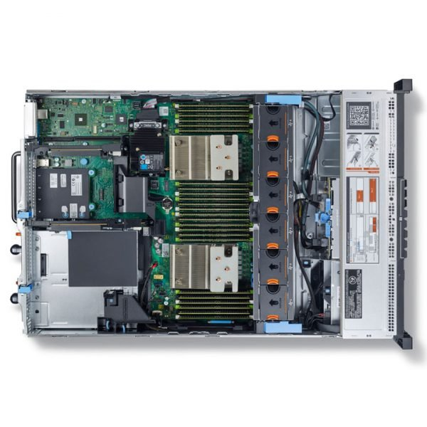 Dell PowerEdge R730 top open