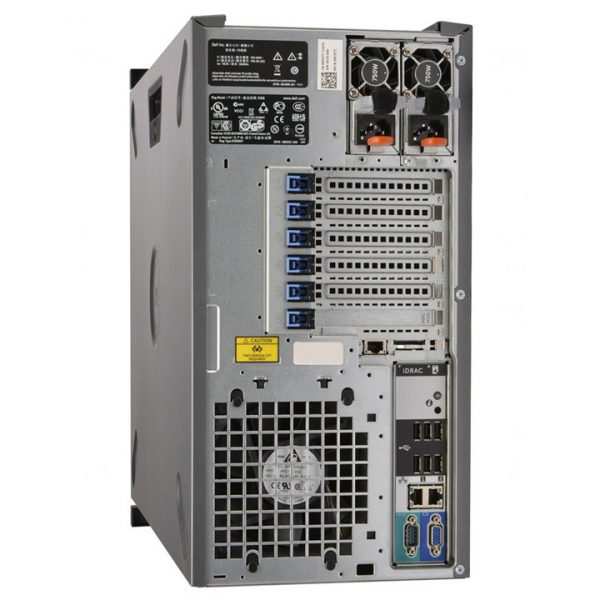 dell poweredge t430 rear